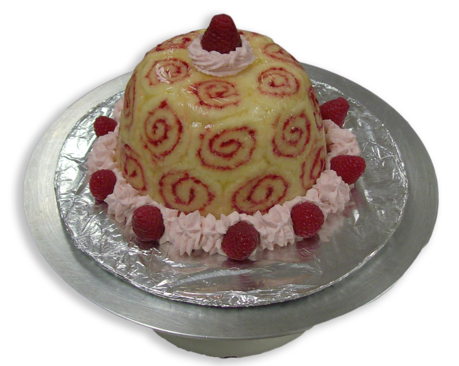 Charlotte Royale Cake, Zetta Marie's Patisserie, Loveland, CO