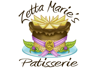 Zetta Marie's Patisserie: Loveland Patisserie and Bakery Mobile Logo