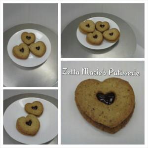 Linzertorte, cookies