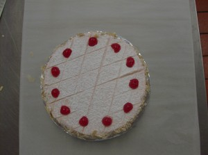 Picture of a Cherry Brandy soaked Torte