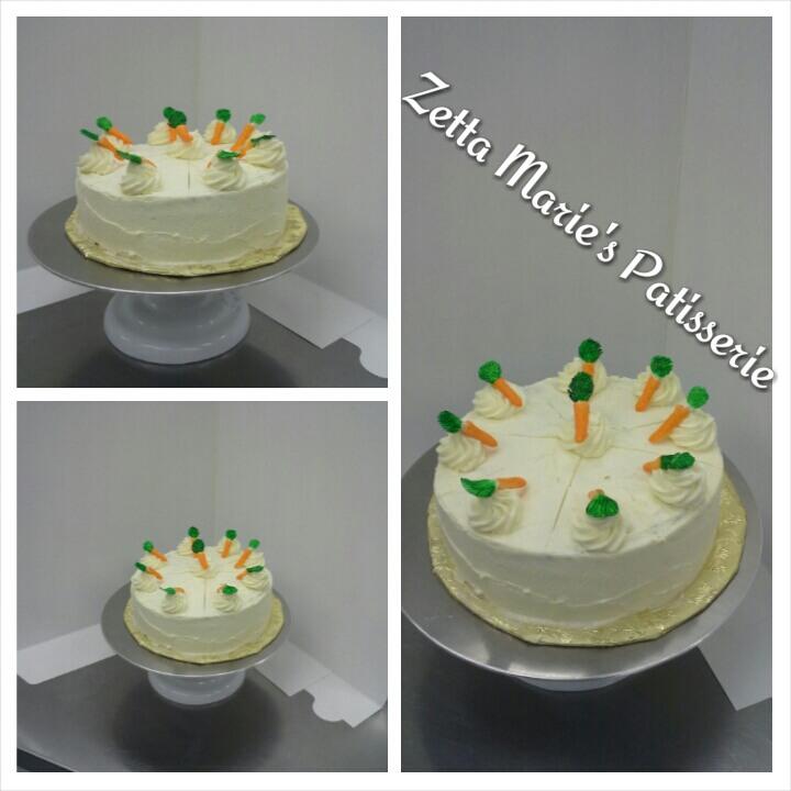 Carrot torte, cake