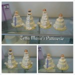 mini wedding cakes, mini cake, weddings, wedding cakes